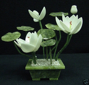 Picture of REAL WHITE JADE LOTUS (FD2124A)