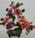 Picture of REAL JADE MIXED BONSAI FLOWER (201-8B)
