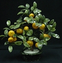Picture of REAL JADE LARGE TANGERINES TREE (20B-4)
