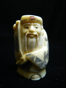 Picture of ANTIQUE BONE JAPANESE NETSUKE (N069)