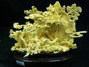 Picture of IVORY 3 HORSES (M41)