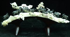 Picture of Cow Bone Zebras Jungle (9906)