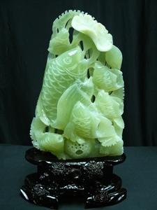 Picture of Large jade fishes aquarium (A171)
