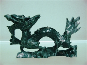 "Picture of 9"" JADE DRAGON (LH26)"
