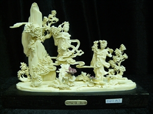 Picture of Bone 2 Dancing Fairies (0412A3)