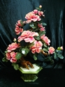 Picture of LARGE JADE BONSAI FLOWER TREE (203-18)
