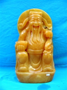 Picture of Yellow Jade Fortune God (B52)