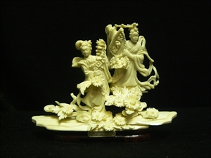 Picture of Bone Two Dancing Fairies (9621)