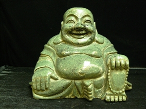 "Picture of 16"" Large Jade Sitting Buddha (LH45)"