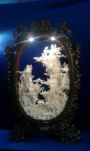 Picture of Bone Fairies Mountain with Frame (96C1)