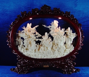 Picture of BONE FAIRIES MOUNTAIN WITH FRAME (96D1)