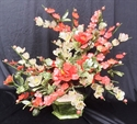 "Picture of 20"" Jade Plum Flowers Basket (F392)"