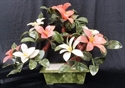 "Picture of 18"" Jade Lily Flowers (YF180)"