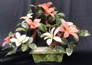 """Picture of 18"""" Jade Lily Flowers (YF180)"""
