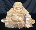 "Picture of 18"" Yellow Jade Sitting Buddha YJ12"