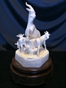 """Picture of 8"""" Bone Five Goats 0503A"""