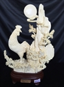 """Picture of 10"""" Bone Rooster 0504a2"""