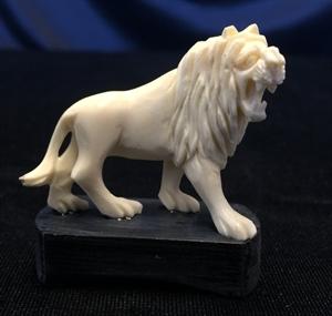 Picture of Bone Single Lion 9715