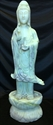 """Picture of 22"""" Jade Standing Kwanyin (LX17)"""