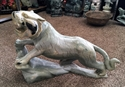 """Picture of 32"""" Green Jade Tiger (A04)"""