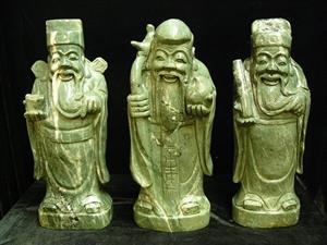 """Picture of 30"""" Jade Three Wisemen Set (LH46)"""