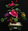 """Picture of 14"""" Mixed Jade Bonsai Flowers (99-3)"""