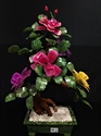 Picture of REAL JADE MIXED BONSAI FLOWER TREE (99-2)