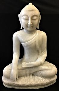 Picture of White Jade Gautama Buddha (WJ55)