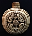 "Picture of 1.5""x2"" Antique Bone Snuff Bottle SB03"