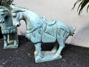 Picture of Large Jade Saddled Tang Horse (LH3)