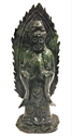 "Picture of 10"" Jade Standing Kwanyin wj61"