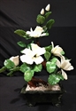 Picture of REAL WHITE JADE BONSAI FLOWER (99-3A)